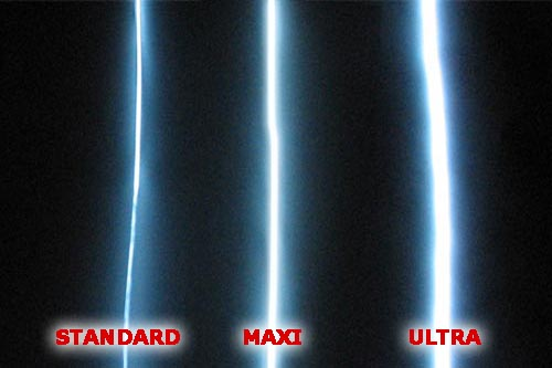MAXI EL Wire comparison
