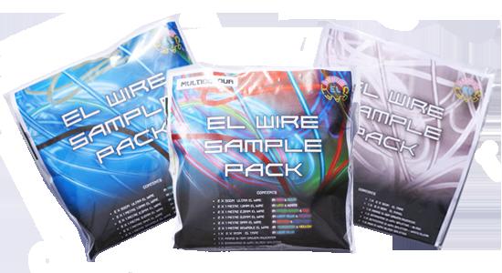 el wire sample packs