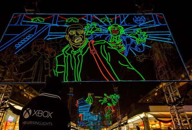 Xbox Faux Neon Signs by Helix3D with el wire