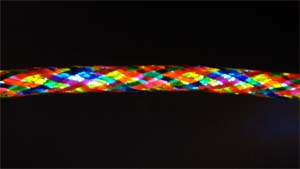 multi coloured EL Wire