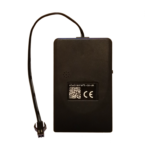 portable sound activated el driver for up to 6m of el wire