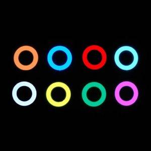 6cm EL Hoop  – Glowing Disc of EL Tape