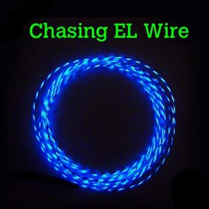 CHASING EL Wire 2.3mm – Motion Effect @£5 per metre