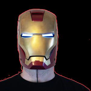 EL Iron Man Set = El Tape Glowing Eyes + EL Panel Arc Reactor