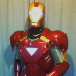 EL Iron Man Set (Mark 6) = El Tape Glowing Eyes + EL Panel Triangle