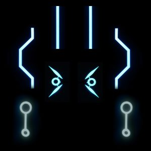LEG Pieces Tron Replica Set
