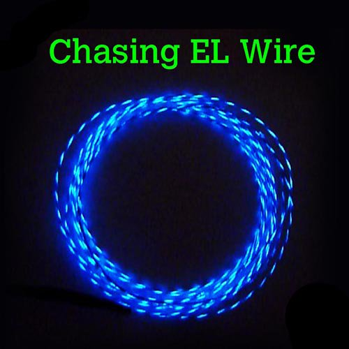 CHASING EL Wire 2.3mm - Motion Effect @£5 per metre