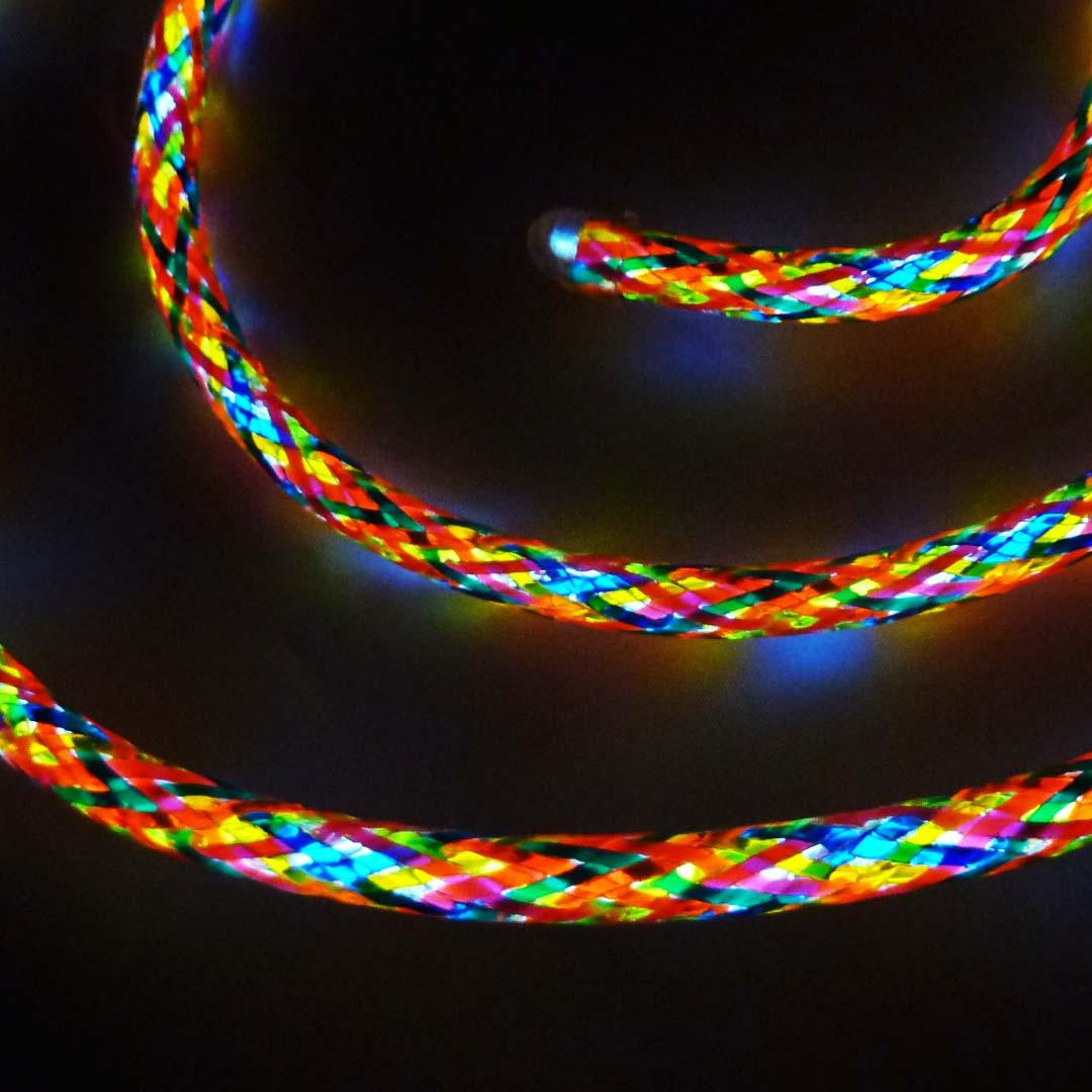 Multicoloured EL Wire @ £6 per metre