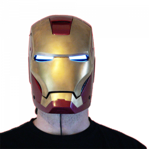 EL Iron Man Set = El Tape Glowing Eyes + EL Panel Arc Reactor