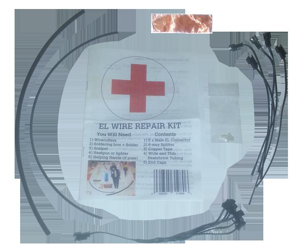 El wire repair kit craft
