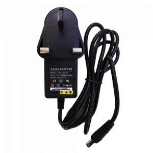 Mains Powered PSU – UK Plug 240V to 12V