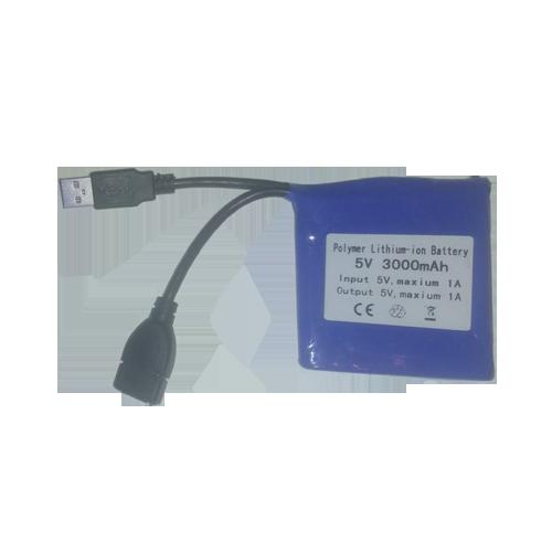USB Rechargeable Li-ion Battery 3000mAh