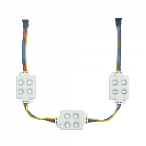 4 x led block of rgb smd 5050