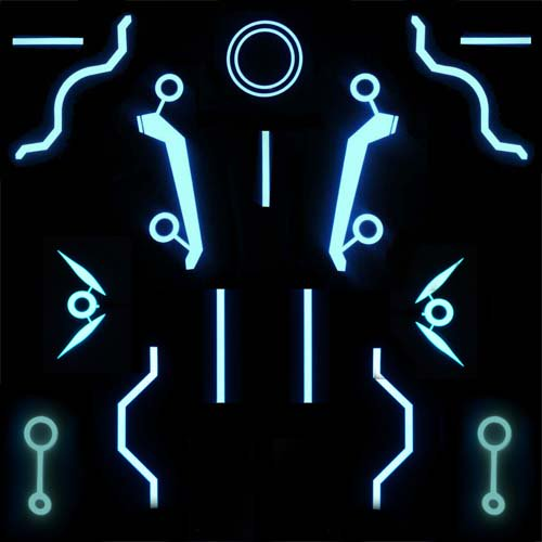 full replica el panel tron set