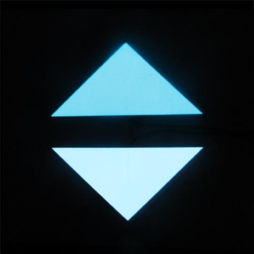 el panel triangle shape