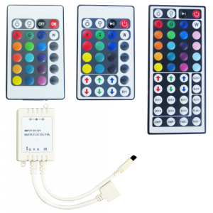 IR Remote and Controller for LED
