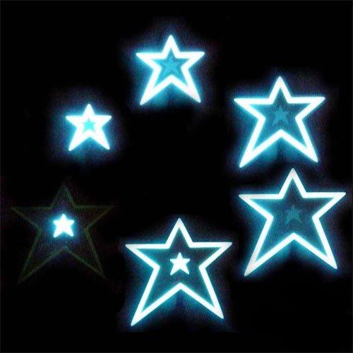 el moving panel of glowing stars