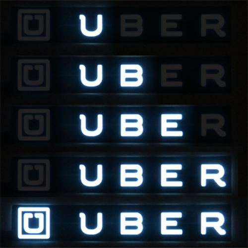 animated glowing uberlogo el panel