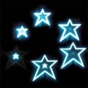 EL Panel MOVING IMAGE – Stars – Animated Panel – Glowing EL Sheet For Tron