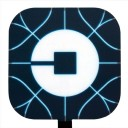 New Square Glowing Uber Logo