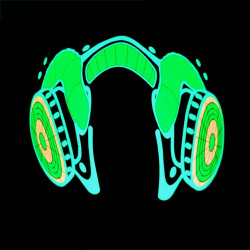 Glowing Party Gas Mask