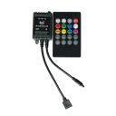 IR Remote and Sound Activated Controller for LED
