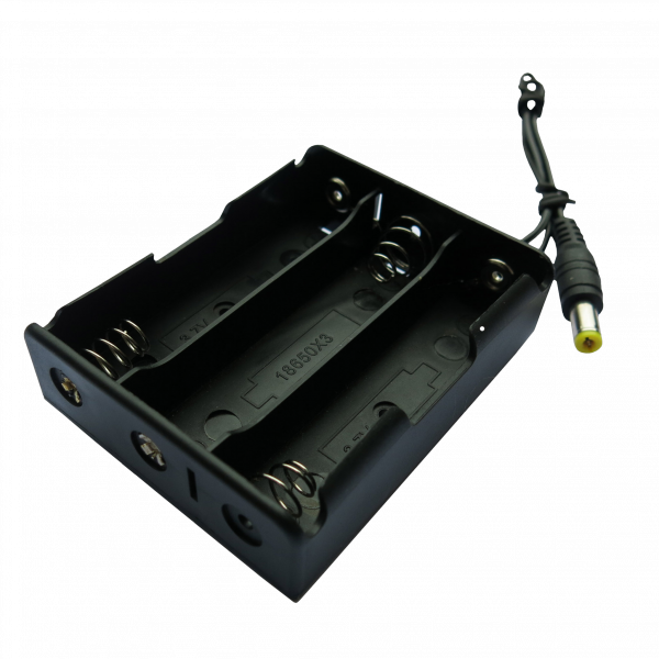 3 x 18650 rechargeable battery box