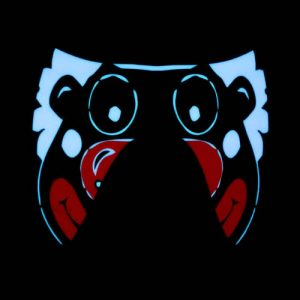Glowing Party Clown Mask