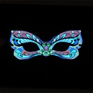 Glowing Carnival Party Mask