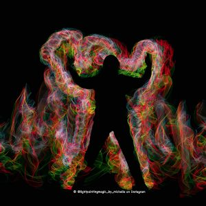 Light painting with elwirecraft's professional light painting set